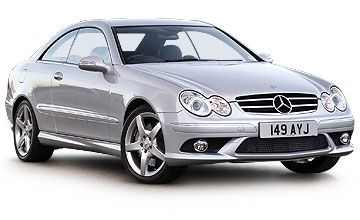 Mercedes CLK Coupe II